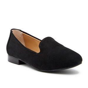Adam Tucker Me Too Yalec Nubuck Black Loafers